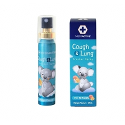 Mediactive® 20+ Honey Cough & Lung  Fresher Spray 澳洲蜂蜜舒緩咳嗽及健康肺部口腔噴霧 25ml (Flavors Mango) MD006a