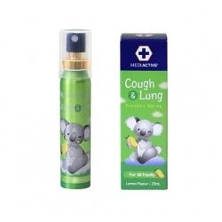 Mediactive® 20+ Honey Cough & Lung  Fresher Spray 澳洲蜂蜜舒緩咳嗽及健康肺部口腔噴霧 25ml (Flavors Lemon) MD006b