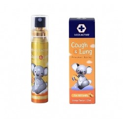 Mediactive® 20+ Honey Cough & Lung  Fresher Spray 澳洲蜂蜜舒緩咳嗽及健康肺部口腔噴霧 25ml (Flavors Orange) MD006c