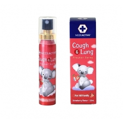 Mediactive® 20+ Honey Cough & Lung  Fresher Spray 澳洲蜂蜜舒緩咳嗽及健康肺部口腔噴霧 25ml (Flavors Strawberry) MD006d