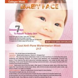 BABY FACE Cool Anti-Pore Watermelon Mask 西瓜冰爽收毛孔面膜