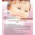BABY FACE Clarify Whitening Cherry Mask 車厘子嫩白美肌面膜